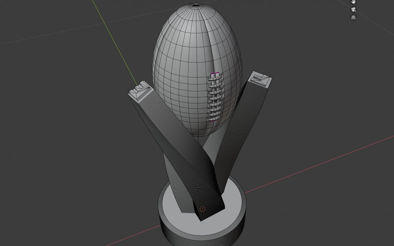 BRACHTKERL ELF Tropy Contest 3D Design 01